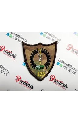 Emblema Batalionul 123...