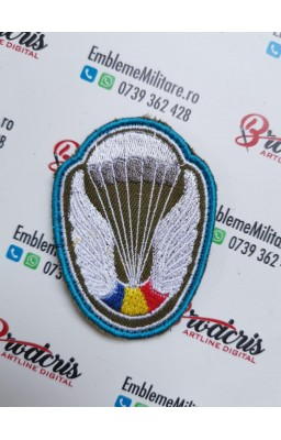 Emblema parasutist (blue)